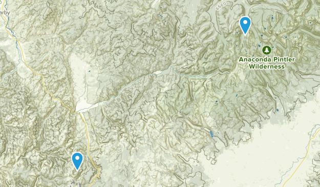 Sula, Montana Map
