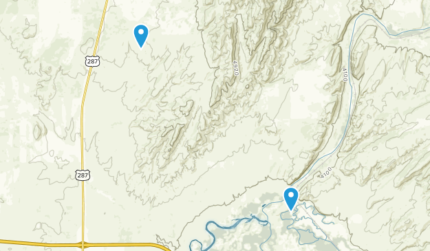 Three Forks, Montana Map