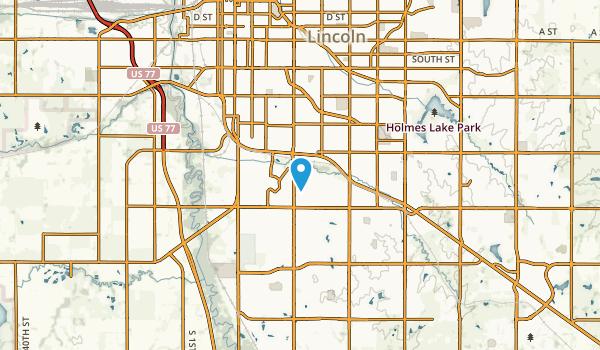 College View, Nebraska Map