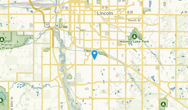 College View, Nebraska Map