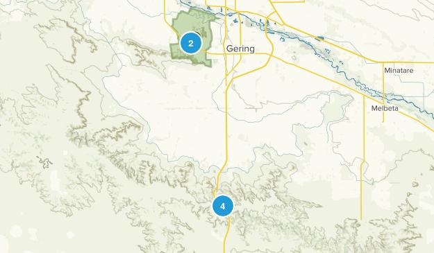 Gering, Nebraska Map