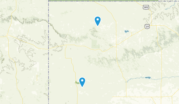 Harrison, Nebraska Map