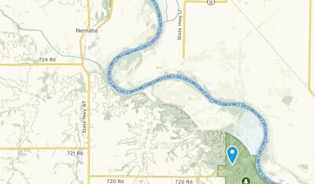 Nemaha, Nebraska Map