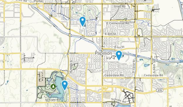 Papillion, Nebraska Map