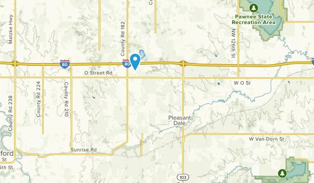 Pleasant Dale, Nebraska Map