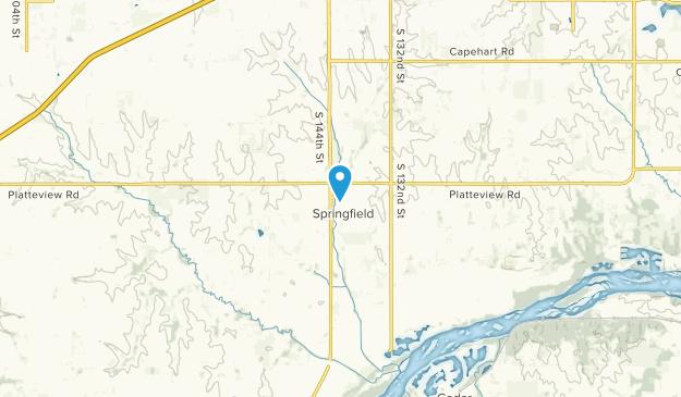 Springfield, Nebraska Map