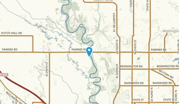 Valley, Nebraska Map