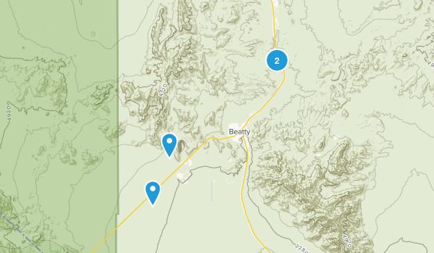 Beatty, Nevada Map