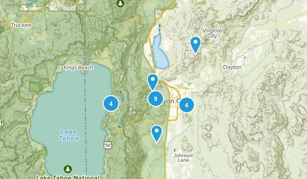 Carson City, Nevada Map