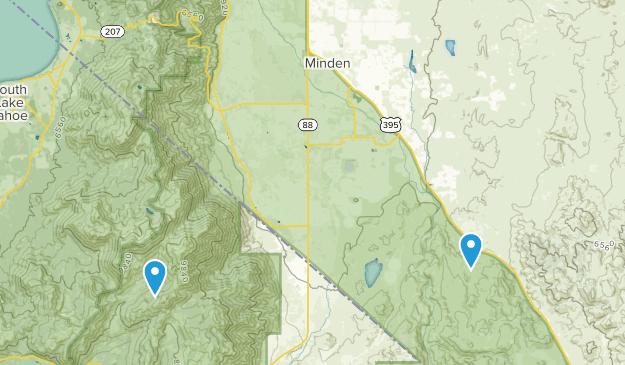 Gardnerville, Nevada Map