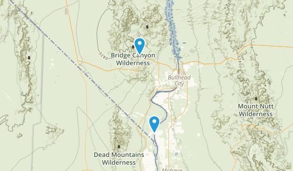 Laughlin Nevada Map