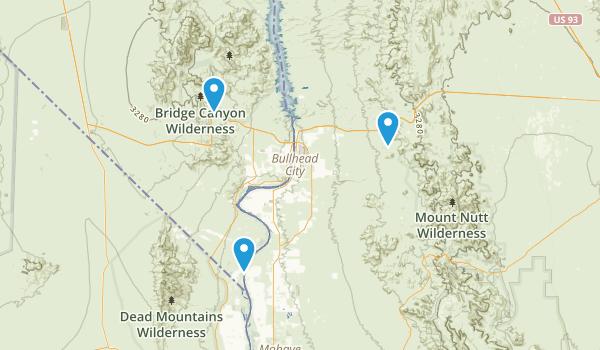 Laughlin, Nevada Map