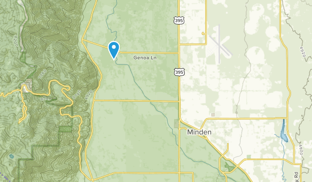 Minden, Nevada Map