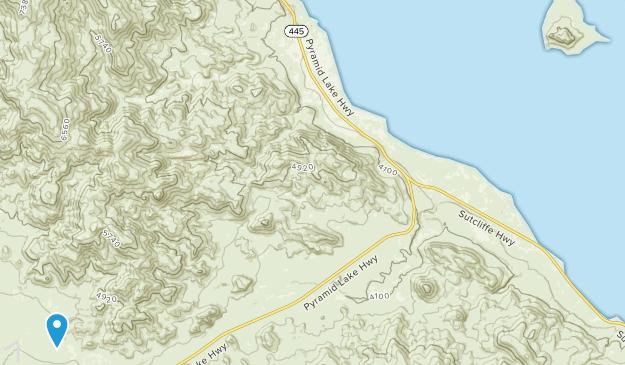 Nixon, Nevada Map