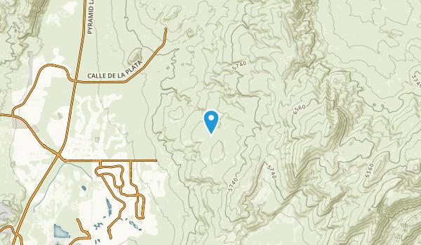Spanish Springs, Nevada Map