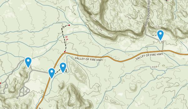 Stewarts Point, Nevada Map