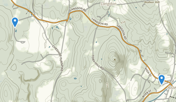 Alstead, New Hampshire Map