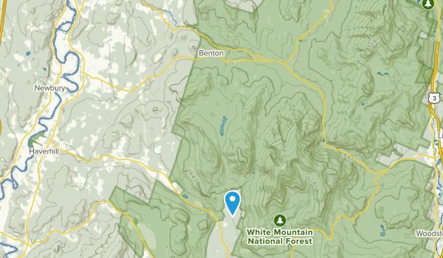 Benton, New Hampshire Map