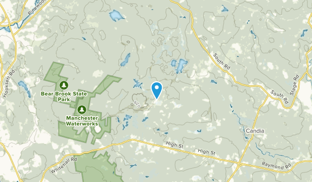 Candia, New Hampshire Map