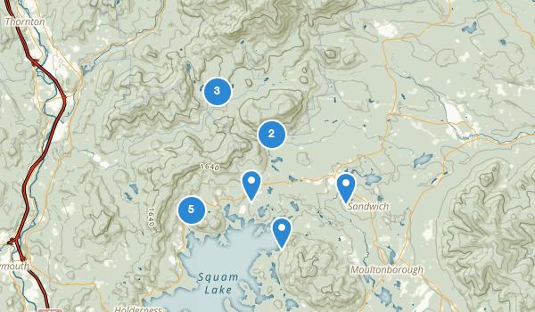Center Sandwich, New Hampshire Map