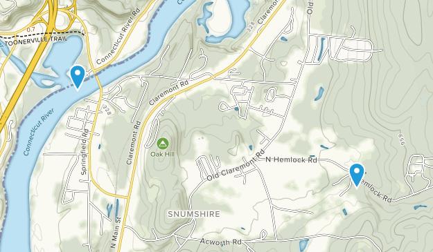 Charlestown, New Hampshire Map