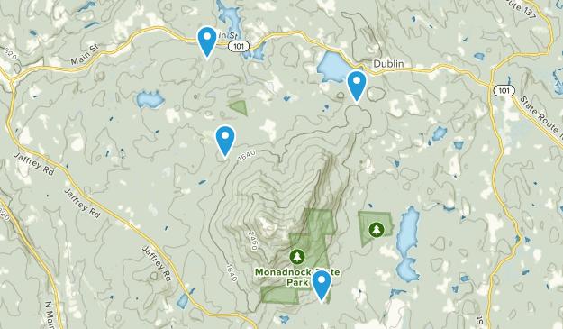 Dublin, New Hampshire Map