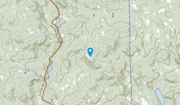 Eaton, New Hampshire Map