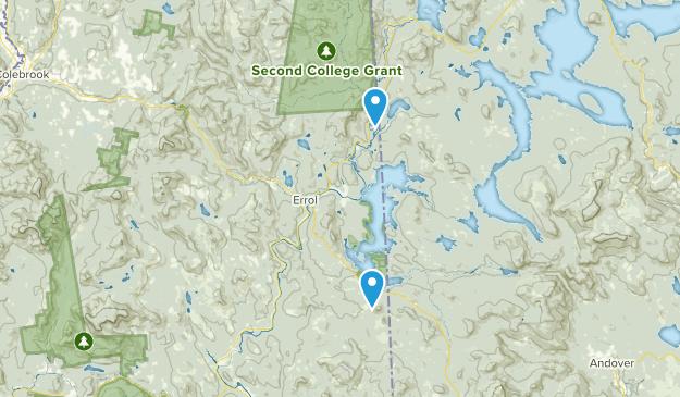 Errol, New Hampshire Map