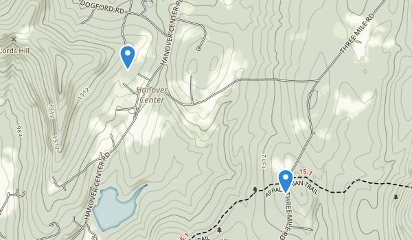 Etna, New Hampshire Map