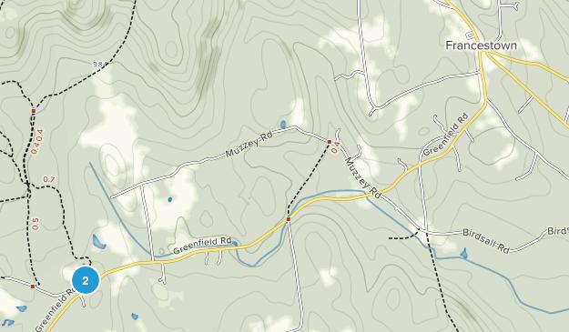Francestown, New Hampshire Map