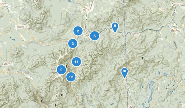 Gorham, New Hampshire Map