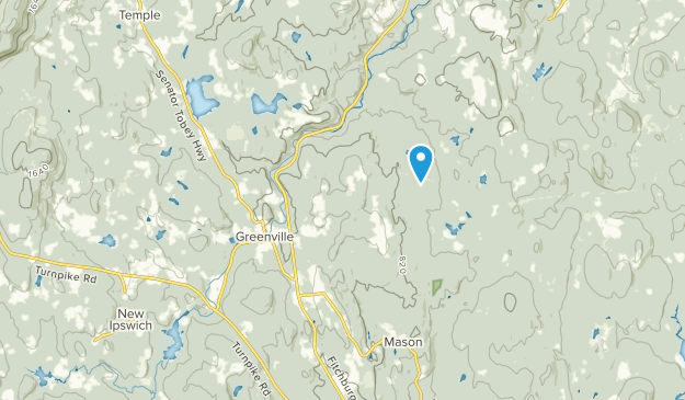 Greenville, New Hampshire Map