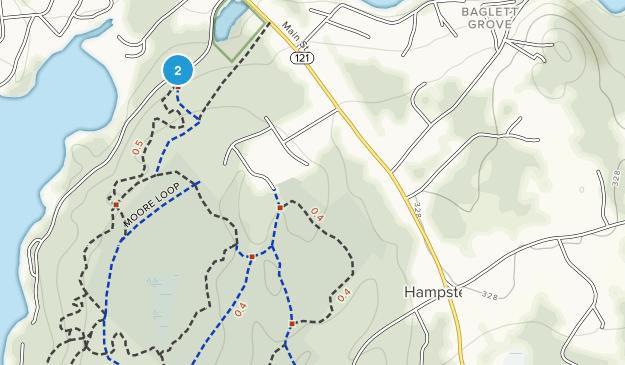 Hampstead, New Hampshire Map