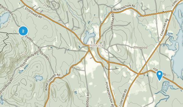 Hancock, New Hampshire Map