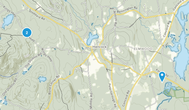 Hancock, New Hampshire Map