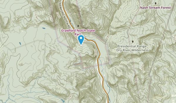 Hart'S Location, New Hampshire Map