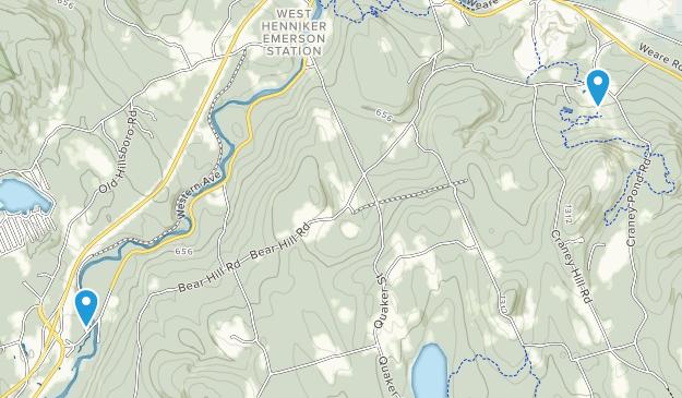 Henniker, New Hampshire Map