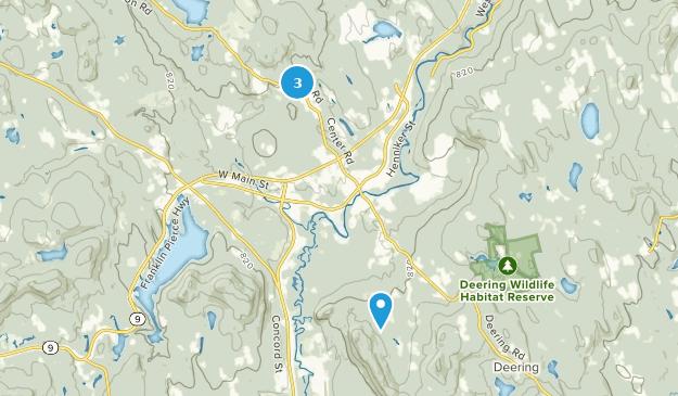 Hillsborough, New Hampshire Map