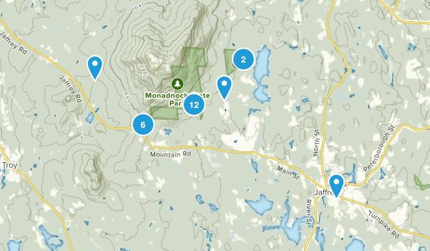 Jaffrey, New Hampshire Map