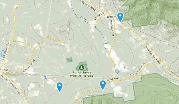 Jefferson, New Hampshire Map