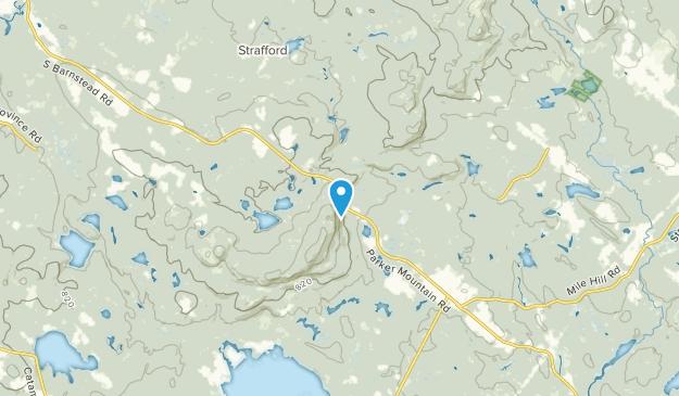 Leighton Corners, New Hampshire Map