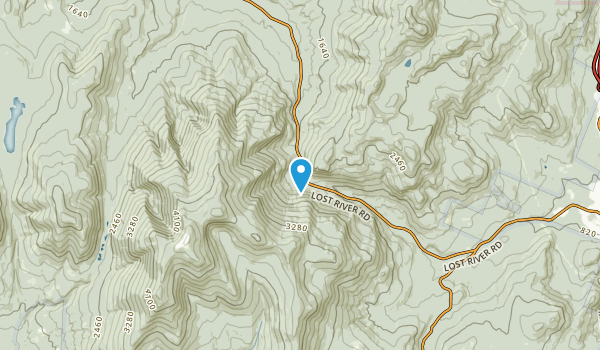 Lost River, New Hampshire Map