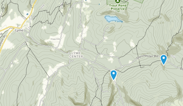 Lyme, New Hampshire Map