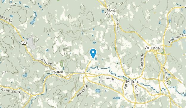 Lyndeborough, New Hampshire Map