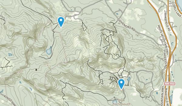Middleton, New Hampshire Map