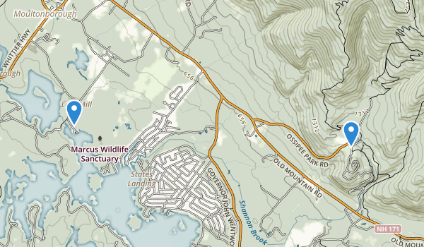 Moultonborough, New Hampshire Map