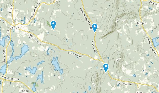 New Ipswich, New Hampshire Map
