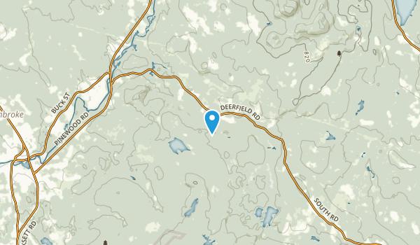 New Rye, New Hampshire Map