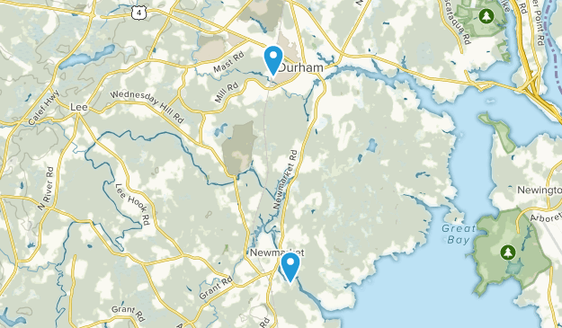 Newmarket, New Hampshire Map