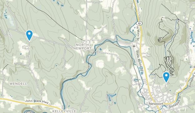 Newport, New Hampshire Map